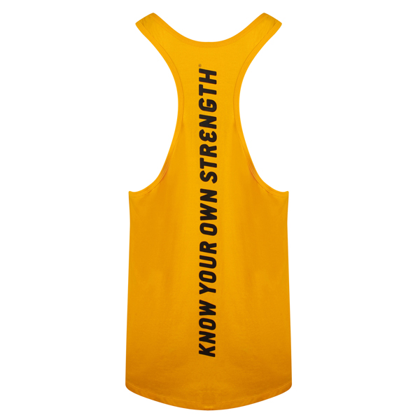 Gold's Gym MUSCLE JOE SLOGAN PREMIUM TANK Stringer