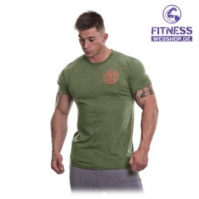 Gold's Gym BASIC LEFT BREAST T-SHIRT Army günstig kaufen bei FitnessWebshop !