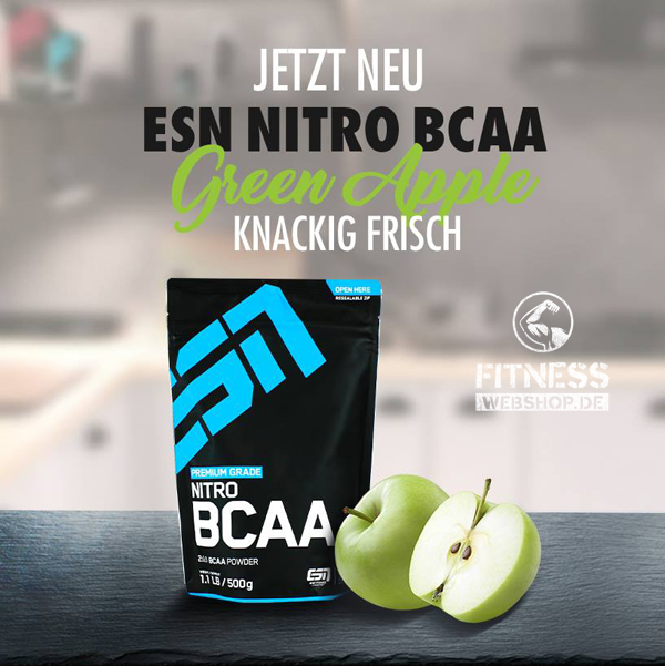 ESN Supplements wie NITRO BCAA POWDER Green Apple günstig kaufen