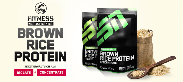 ESN BROWN RICE PROTEIN CONCENTRATE und ISOLATE günstig kaufen
